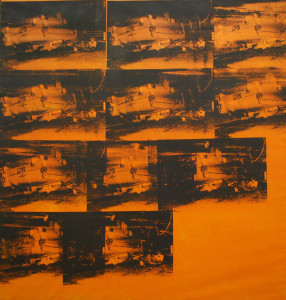warhol 03 orange disaster 1963-