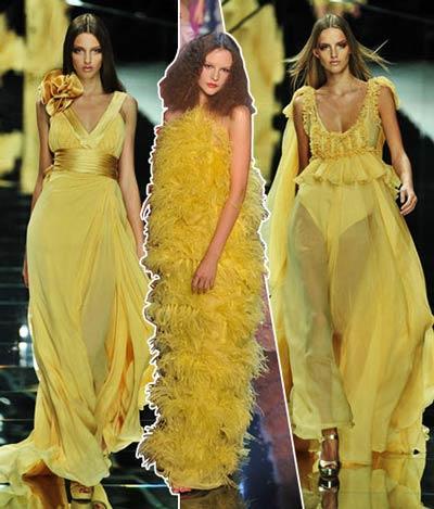 psicologia del colore - vestirsi di giallo